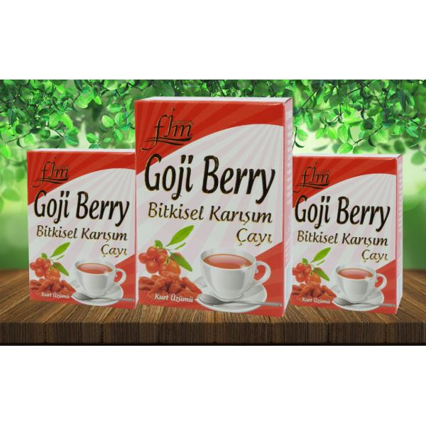 FJM Jasmine Goji Berry Bitkisel Karışım Çayı