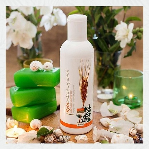 Doğal Buğday & Isırgan Özlü Bitkisel Saç Kremi