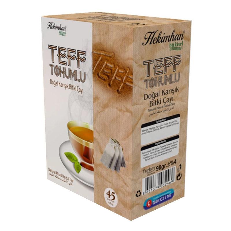Teff Tohumlu Doğal Karışık Bitki Çayı