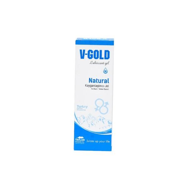 V-Gold Natural Lubricant Gel 75 ml.